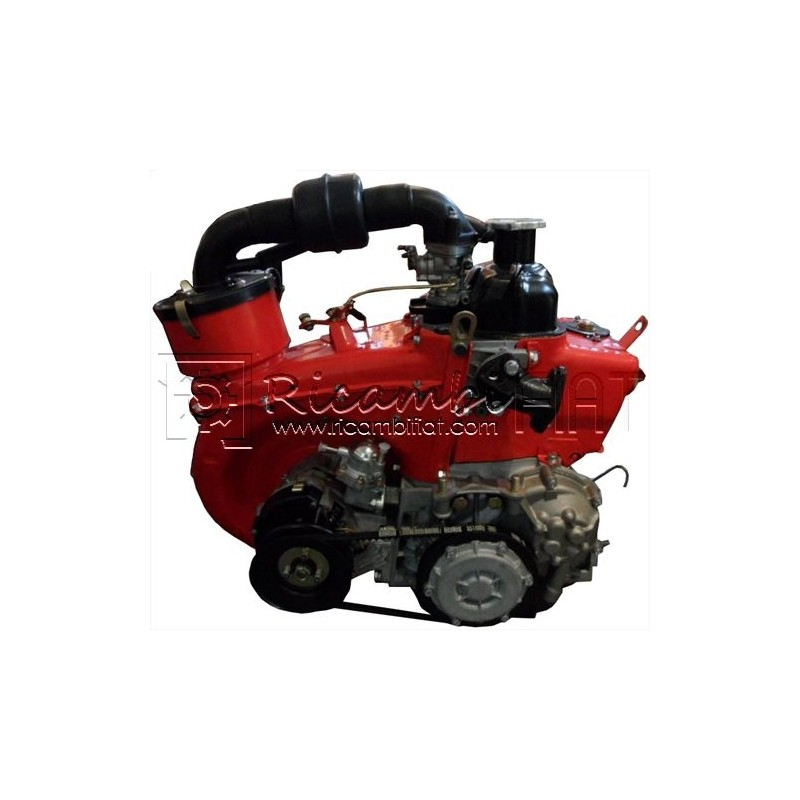Remanufactured Engine 600 Ccm Complete Red