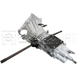Remanufactured synchronized gearbox