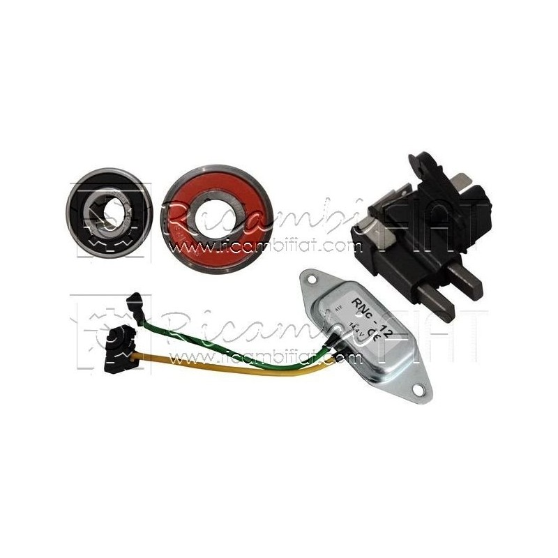 Repair kit for ZELMOT alternator - RicambiFiat com