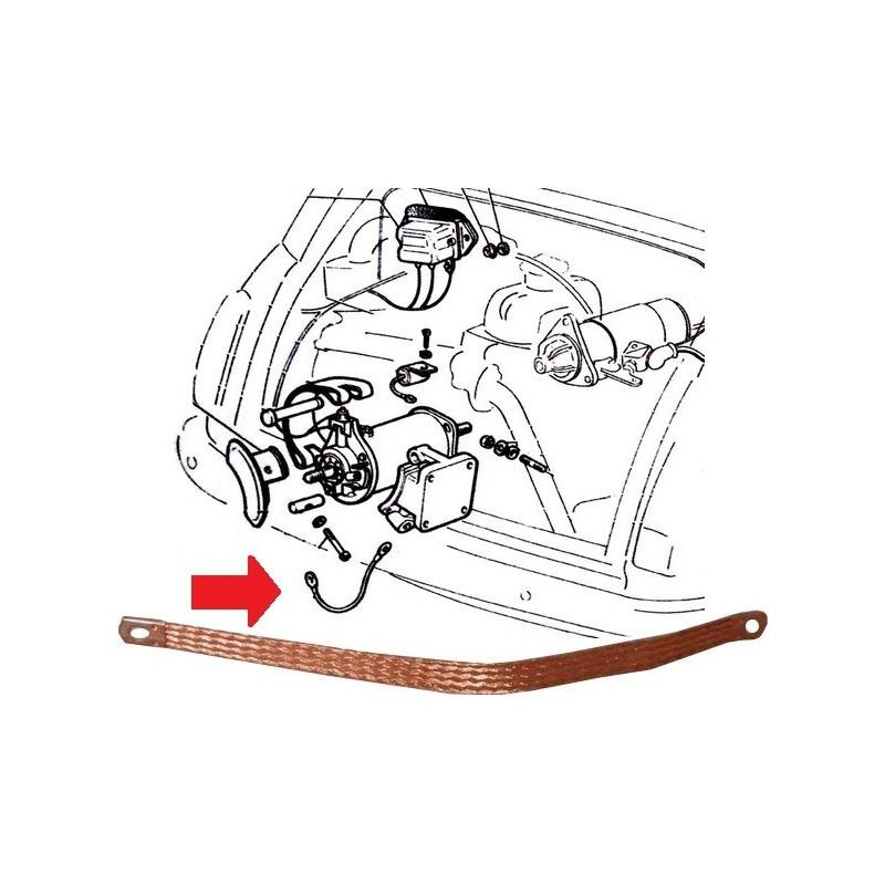 Ground strap of engine - RicambiFiat.comRicambiFiat.com
