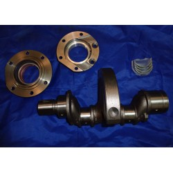Nitrided crankshaft and bearings