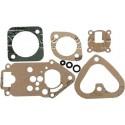 Set of carburetor gaskets