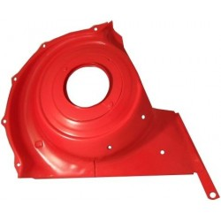 NEW Fan housing panel (cover) alternator, front, red